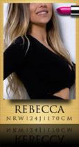 Rebecca Erotische Hausbesuche Hotelbesuche