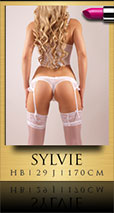 Sylvie Blonde Escortlady