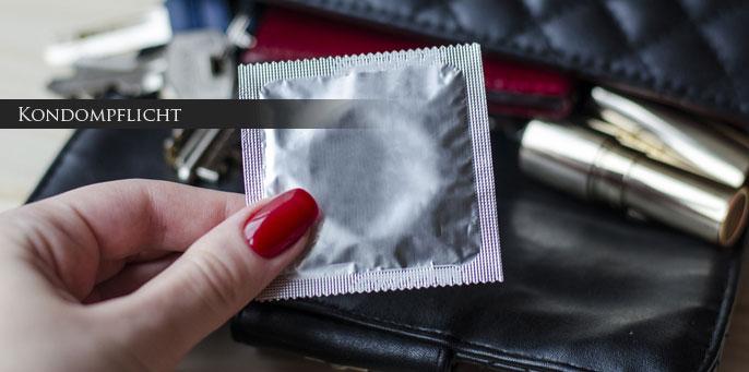 Hinweispflicht Escortagentur Kondompflicht ProstSchG Abschnitt 4